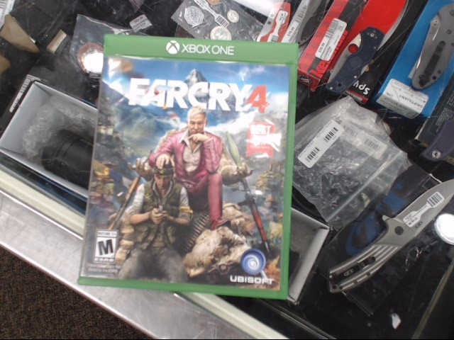 MICROSOFT Microsoft XBOX One Game FAR CRY 4 XBOX ONE
