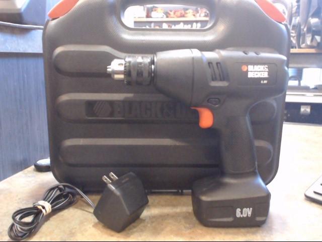 BLACK&DECKER Cordless Drill 9089