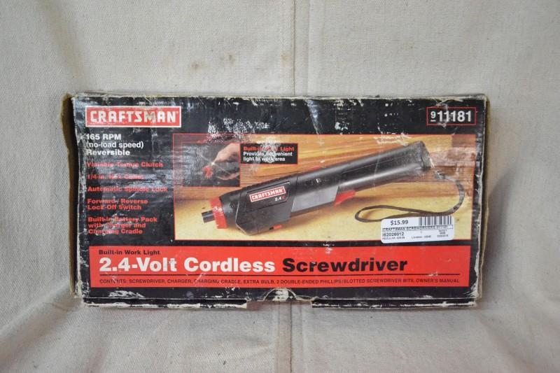 CRAFTSMAN Screwdriver 911181