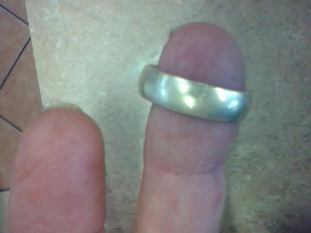 Gent's Gold Wedding Band 14K Yellow Gold 7g Size:9.5