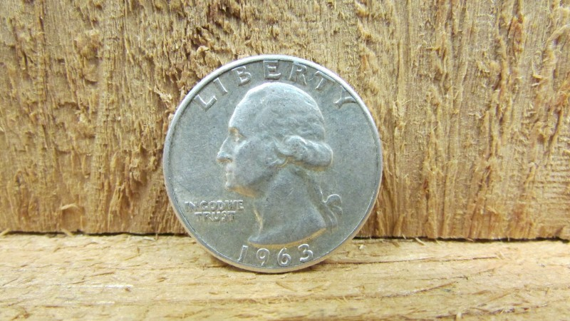 UNITED STATES Silver Coin 1963 QUARTER