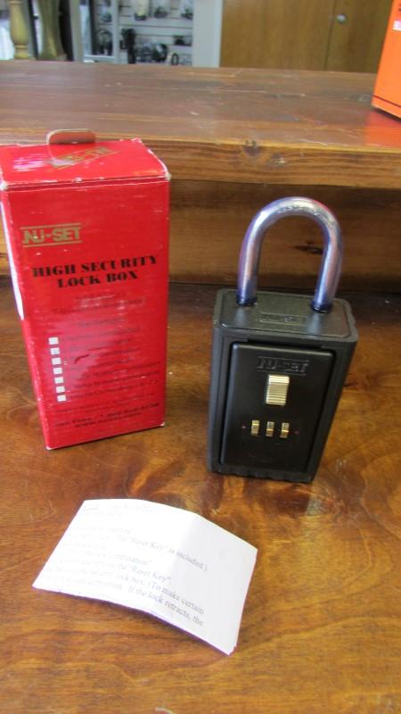 NU-SET HIGH SECURITY LOCK BOX