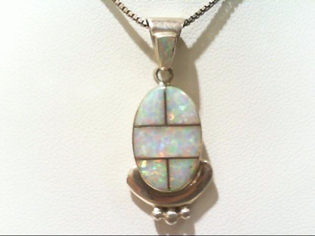 Silver Pendant 925 Silver 5.9g