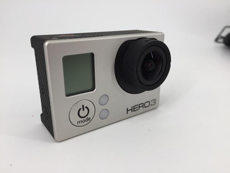 GOPRO HERO 3 SILVER CHDHN-301 HD ACTION CAMERA BUNDLE