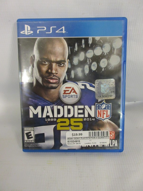 Madden 25, PS4