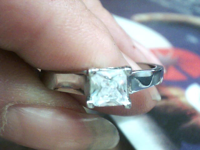 Lady's Ring Silver Stainless 1.4dwt