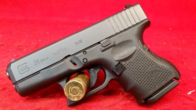 Glock 26 Gen IV 9mm Pistol - 2 Mags / Case