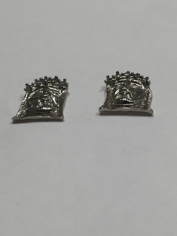 Gold-Diamond Earrings 10 Diamonds .20 Carat T.W. 10K White Gold 2.2dwt