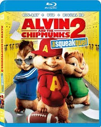 BLU-RAY MOVIE Blu-Ray ALVIN AND THE CHIPMUNKS THE SQUEAKUEL