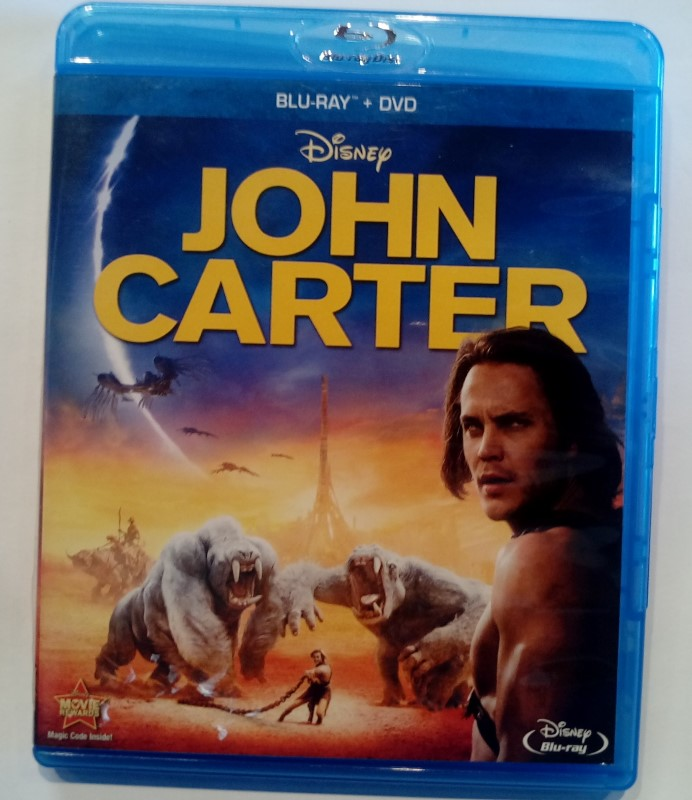 BLU-RAY MOVIE DISNEY'S JOHN CARTER