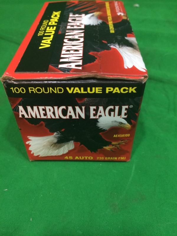 AMERICAN EAGLE AMMUNITION Ammunition .45 AUTO 230 FMJ