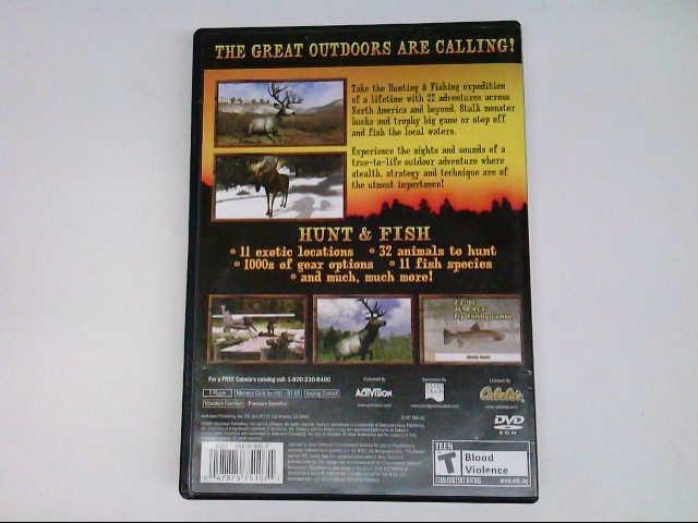 SONY PS2 CABELAS OUTDOOR ADVENTURES