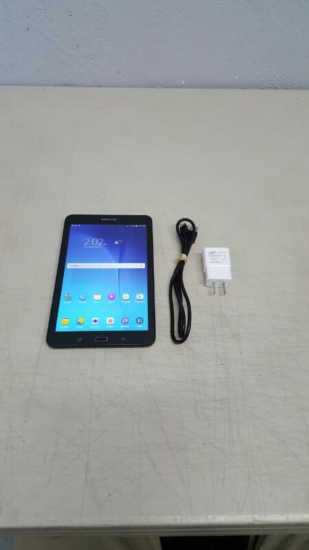 "Samsung Galaxy Tab E, 16gb (8"", SM-T377P, Black, Sprint)"