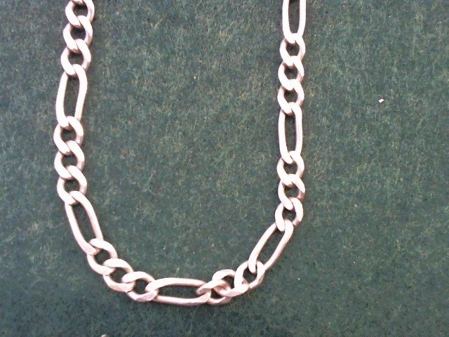 "28"" Silver Chain 925 Silver 21.2g"