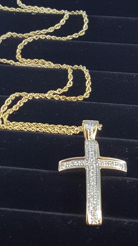 "16"" Gold Chain 10K Yellow Gold 4.6dwt"