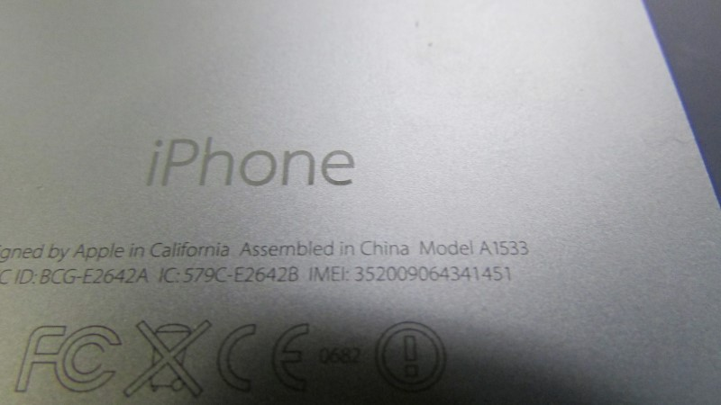 APPLE Cell Phone/Smart Phone IPHONE 5S ME341LL/A