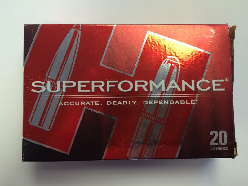 Hornady - Superformance - 30-06 SPRG - 165 gr SST