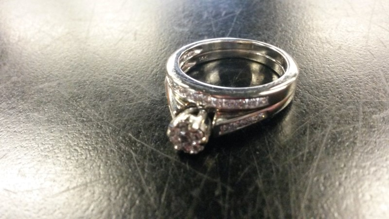 DIAMOND Lady's Diamond Wedding Set 22_SMALL_ROUND_7_MED_RND