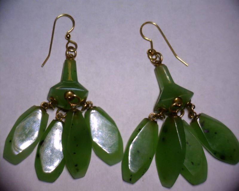 Gold Earrings 14K Yellow Gold 2dwt