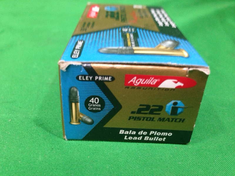Aguila Ammunition 22lr 40gr Match 50rds
