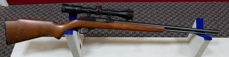 MARLIN MODEL 60 22LR WITH SCOPE