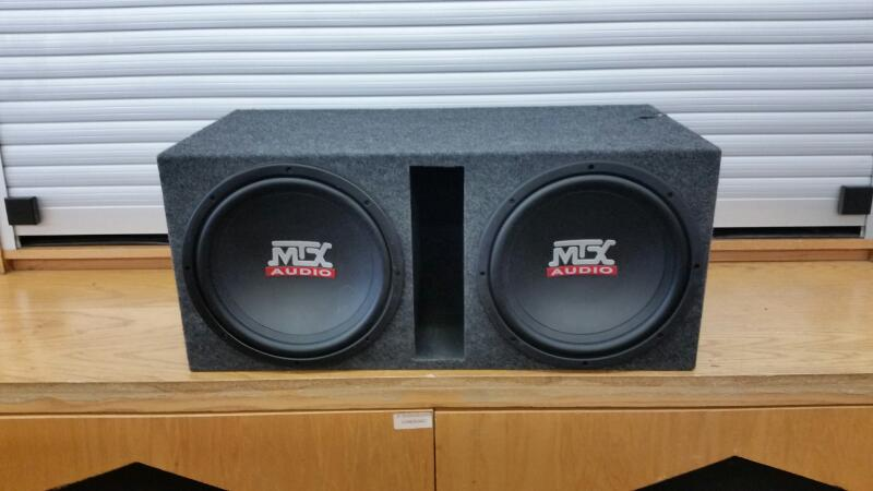 MTX Audio RTS 12-04 Road Thunder