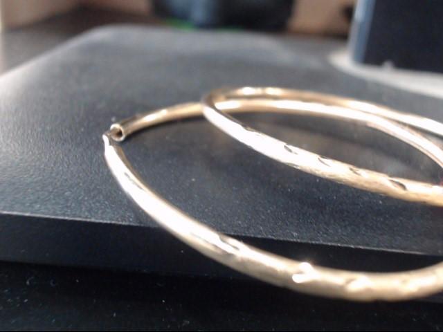 Gold Earrings 10K Yellow Gold 3.6g