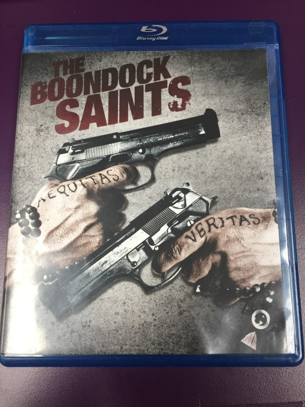 THE BOONDOCK SAINTS BLU-RAY MOVIE