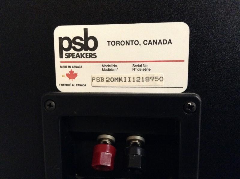 PSB SPEAKERS Speakers 20MARK II