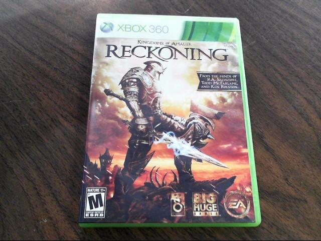 MICROSOFT Microsoft XBOX 360 Game KINGDOMS OF AMALUR RECKONING