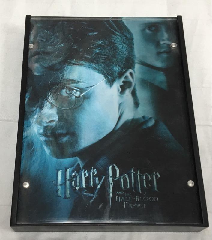 DVD BOX SET HARRY POTTER AND THE HALF BLOOD PRINCE HOLOGRAM HARD CASE