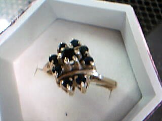 Lady's Gold Ring 14K Yellow Gold 3.74g