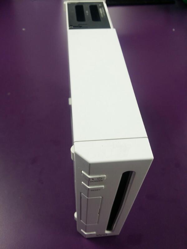 Nintendo Wii Console RVL-001 - White - Gamecube Ports