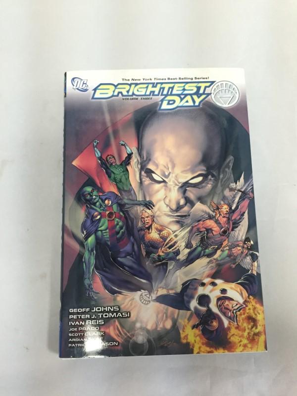 DC COMICS BRIGHTEST DAY VOLUME 3, HARDBACK COPY