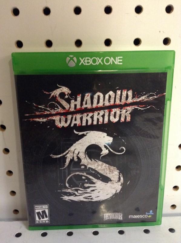 MICROSOFT Microsoft XBOX One Game SHADOW WARRIOR - XBOX ONE