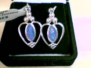Silver Earrings 925 Silver 3.07g