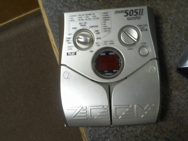 ZOOM Effect Equipment 505 II GUITAR PEDAL