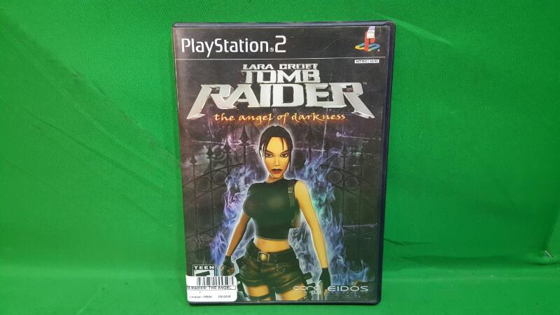 SONY Sony PlayStation 2 Game TOMB RAIDER: THE ANGEL OF DARKNESS