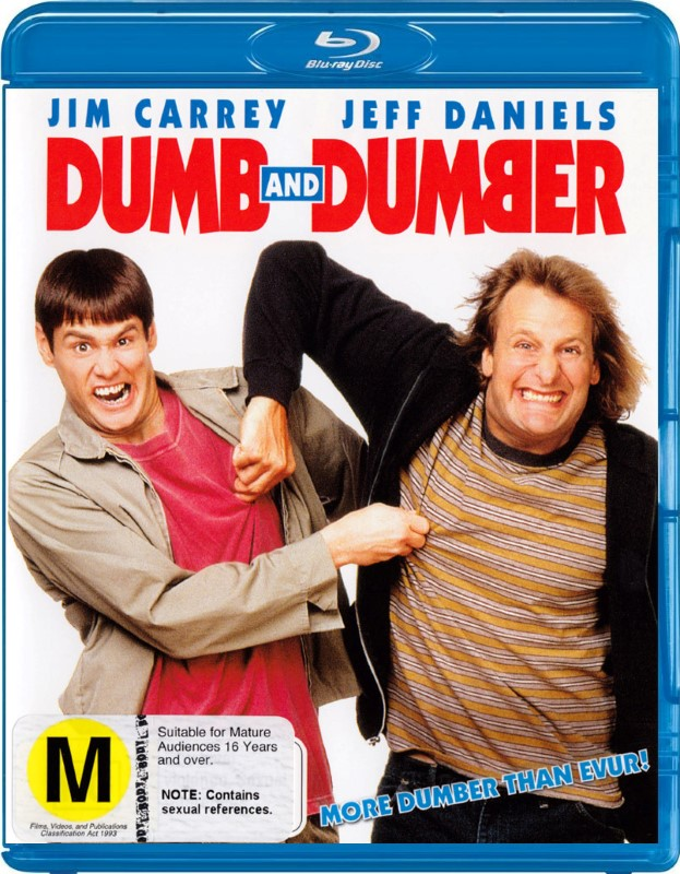 BLU-RAY MOVIE Blu-Ray DUMB AND DUMBER