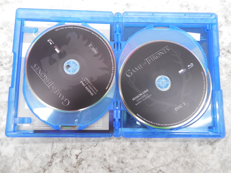 GAME OF THRONES SEASON 1 BLURAY