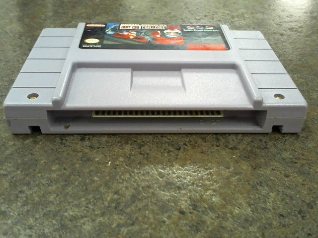 NINTENDO Nintendo SNES Game MICHAEL ANDRETTI'S INDY CAR CHALLENGE SNES
