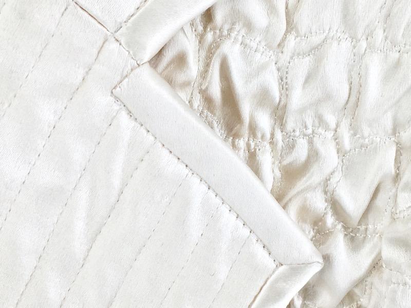 Valentino Boutique Ruffle Cream/White Long Coat (S/M)