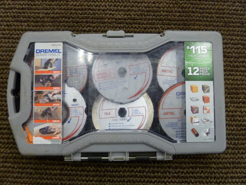 12 PC DREMEL SAW MAX BLADE SET