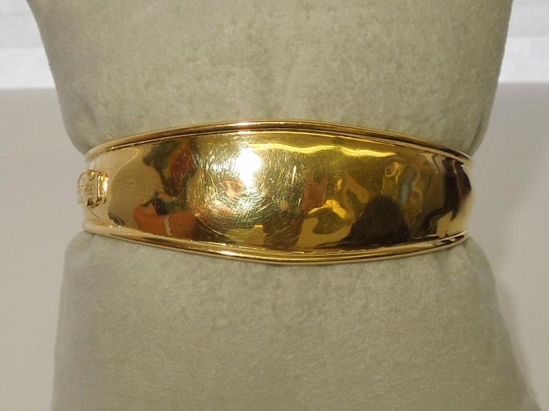 Gold Fashion Bracelet 18K Yellow Gold 16g