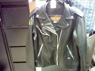 HARLEY DAVIDSON Clothing LADIES BLACK LEATHER JACKET