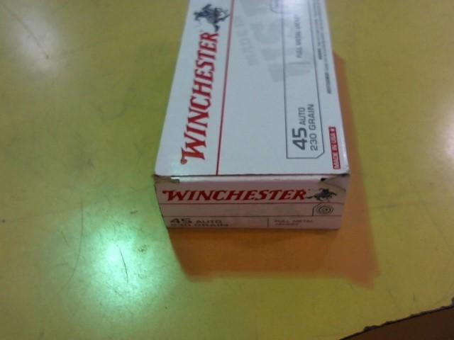 WINCHESTER Ammunition 45 AUTO 230GR FMJ