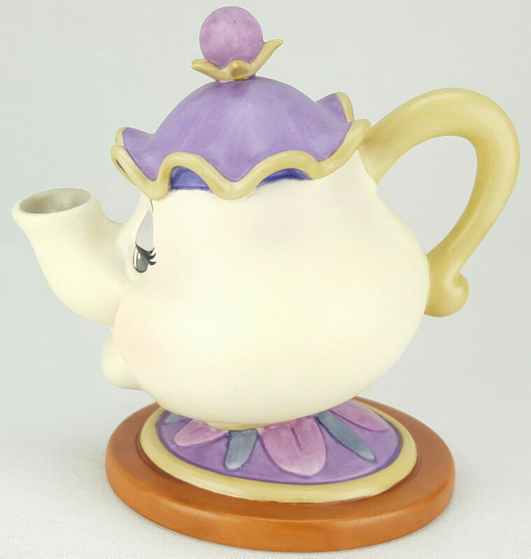 """WDCC BEAUTY AND THE BEAST'S """"GOOD NIGHT, LUV"""" MRS. POTTS FIGURINE"""