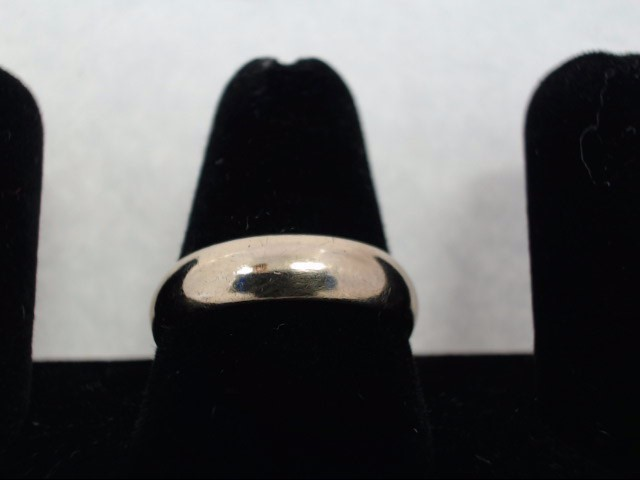 Gent's Gold Wedding Band 14K Yellow Gold 4.09g