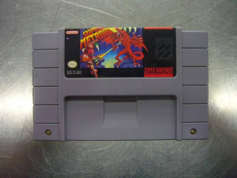 NINTENDO SNES Game SUPER METROID *CARTRIDGE ONLY*