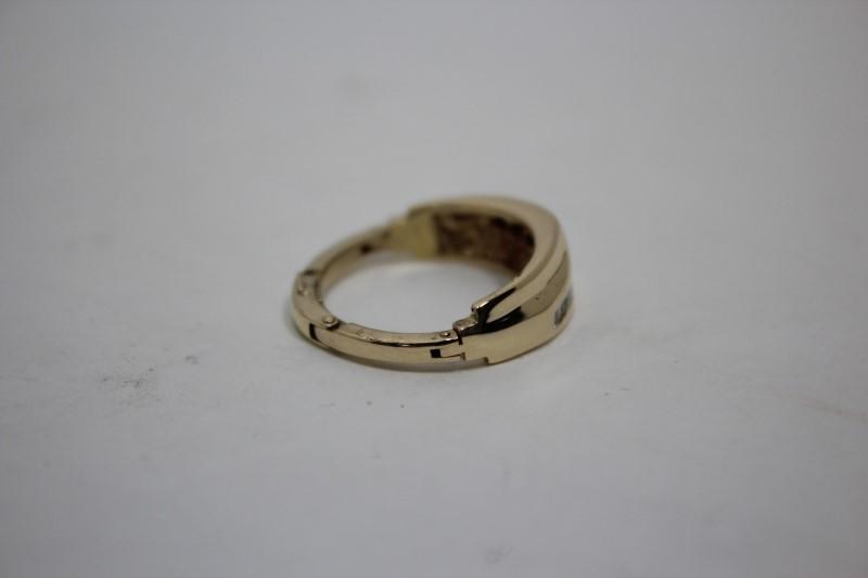 Lady's Diamond Cluster Ring 16 Diamonds .48 CTW 14K Yellow Gold 4.8g Size: 8
